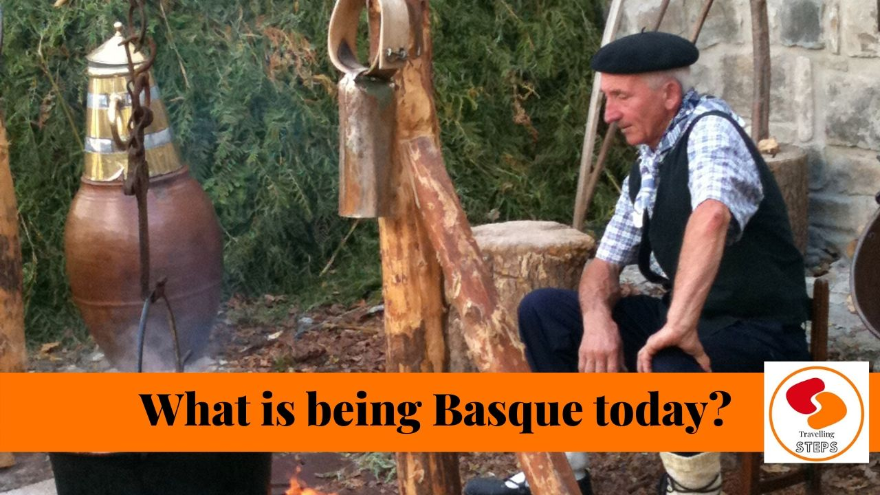 traveling steps being basque today