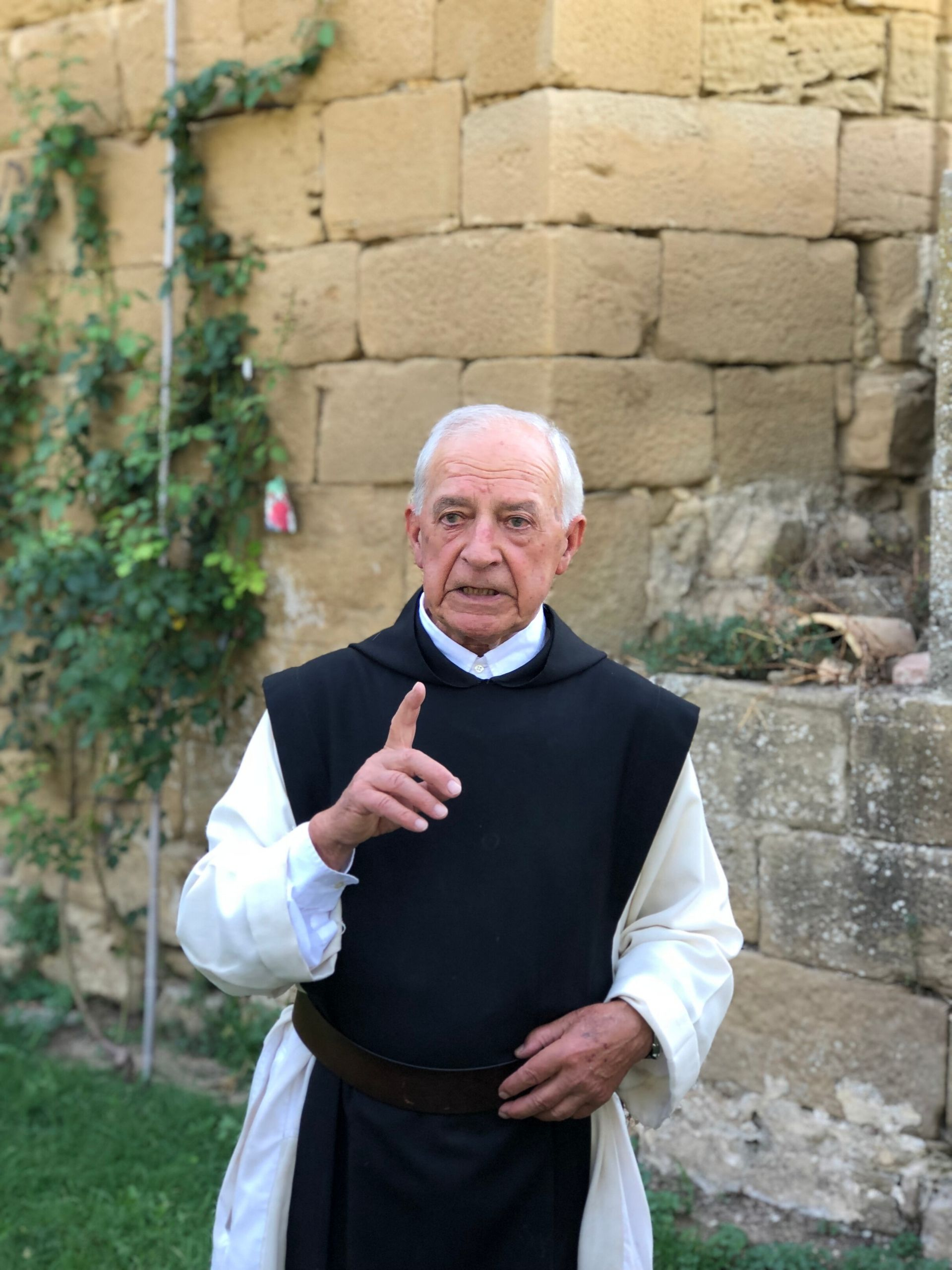 traveling steps priest