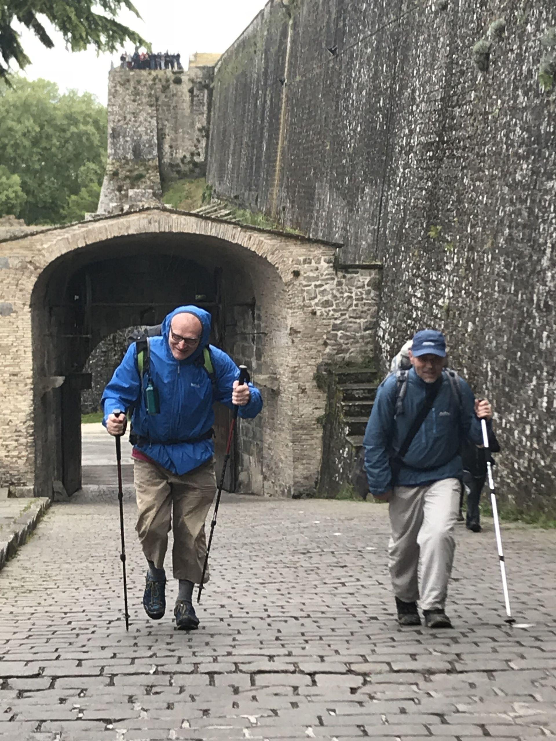 traveling steps pilgrim