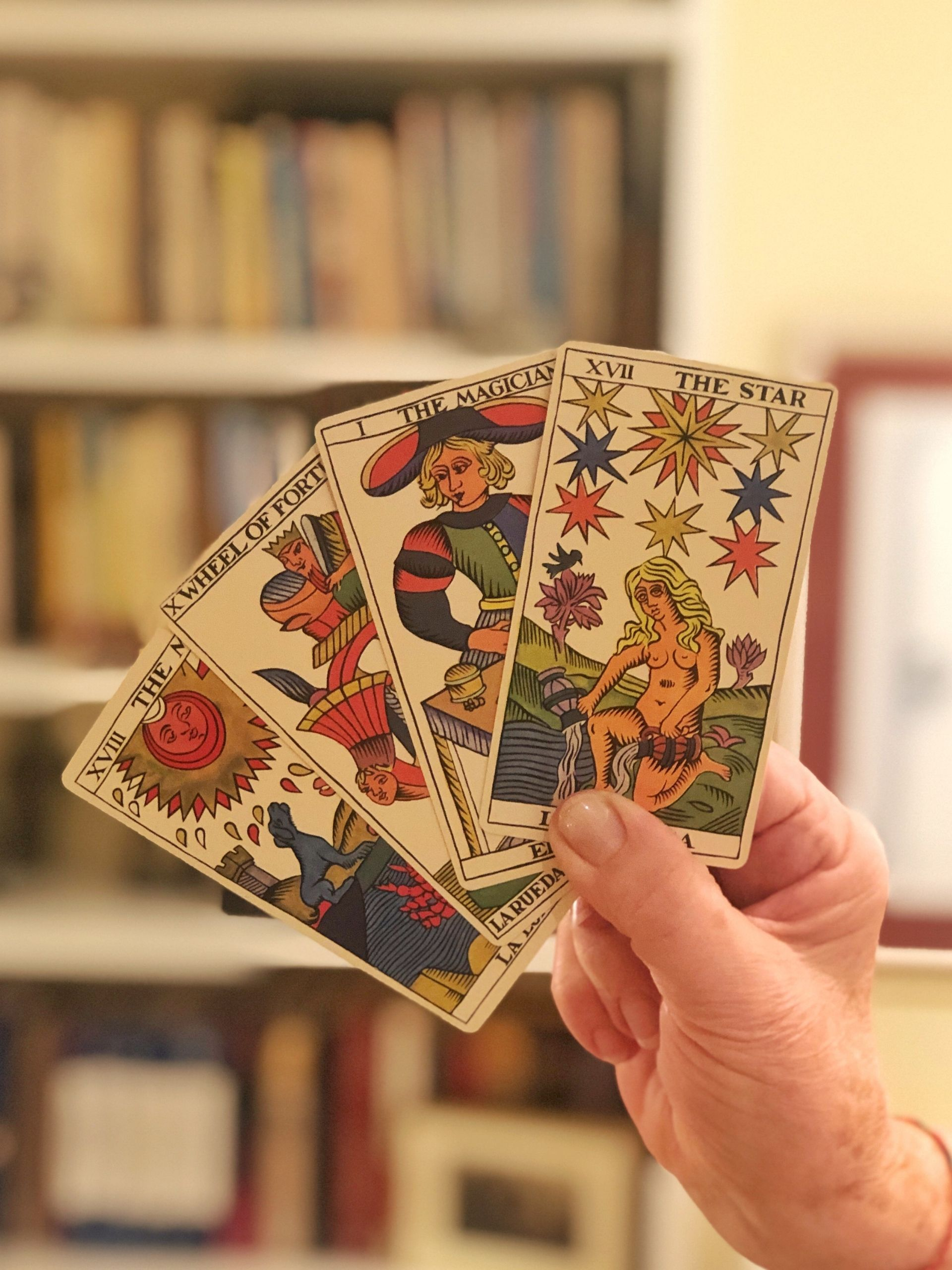 traveling steps tarot cards