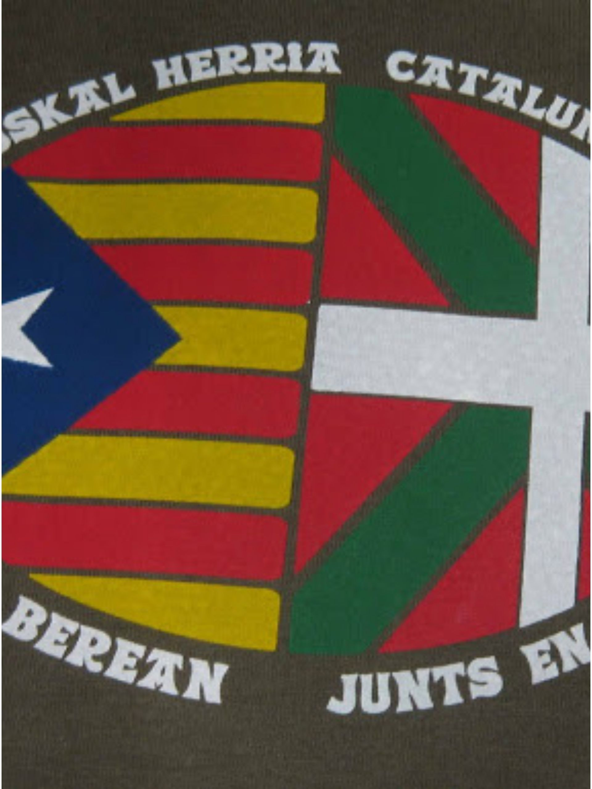 traveling steps flags basque catalonia