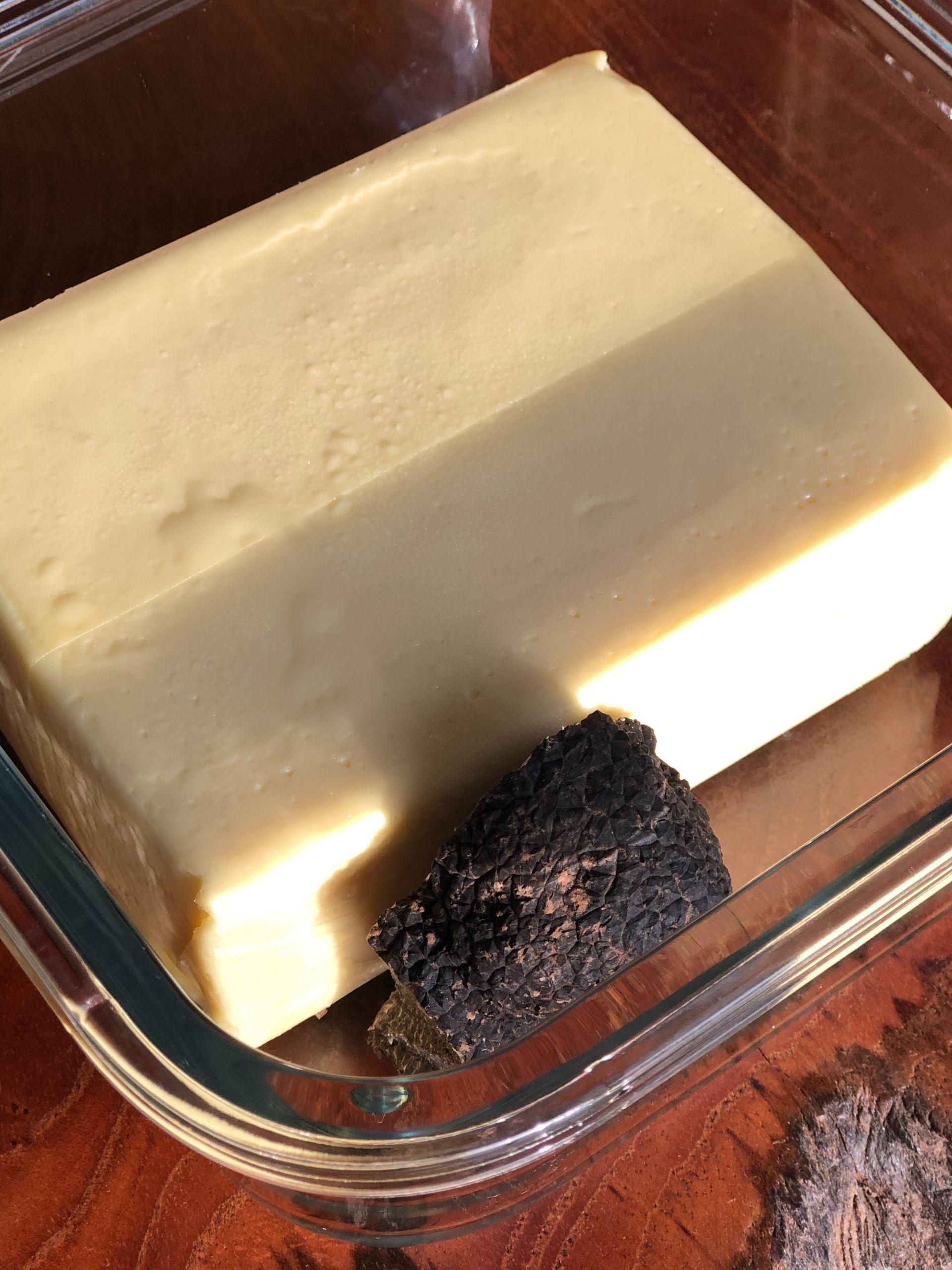 truffle butter traveling spain