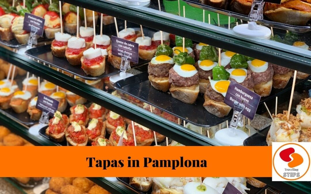 traveling steps tapas