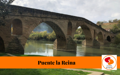 Puente la Reina a bridge in the Camino