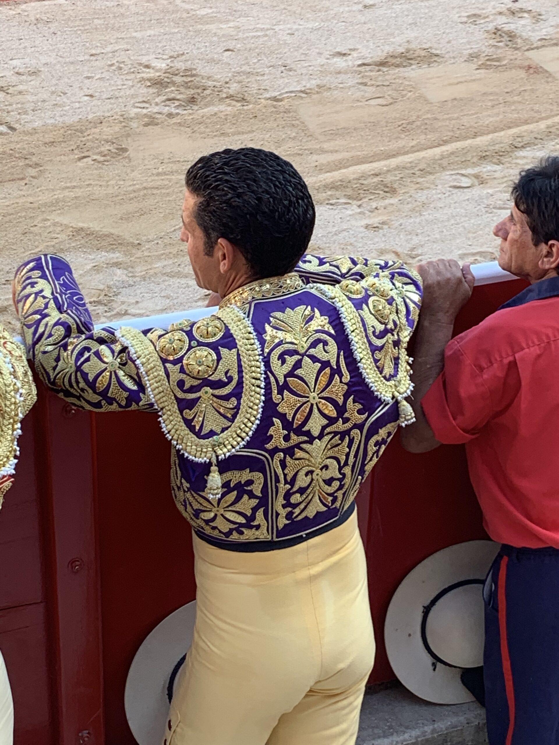traveling steps torero dress