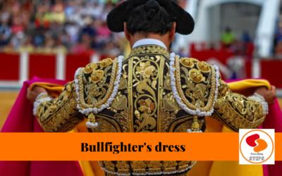 The bullfighter's dress is a piece of art