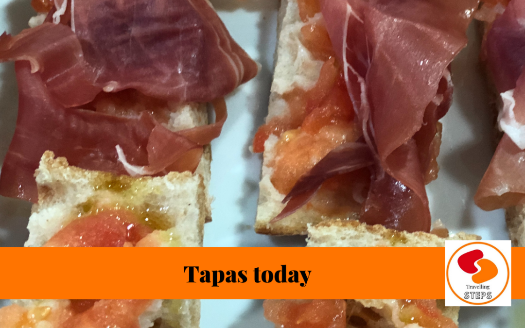 traveling steps tapas today