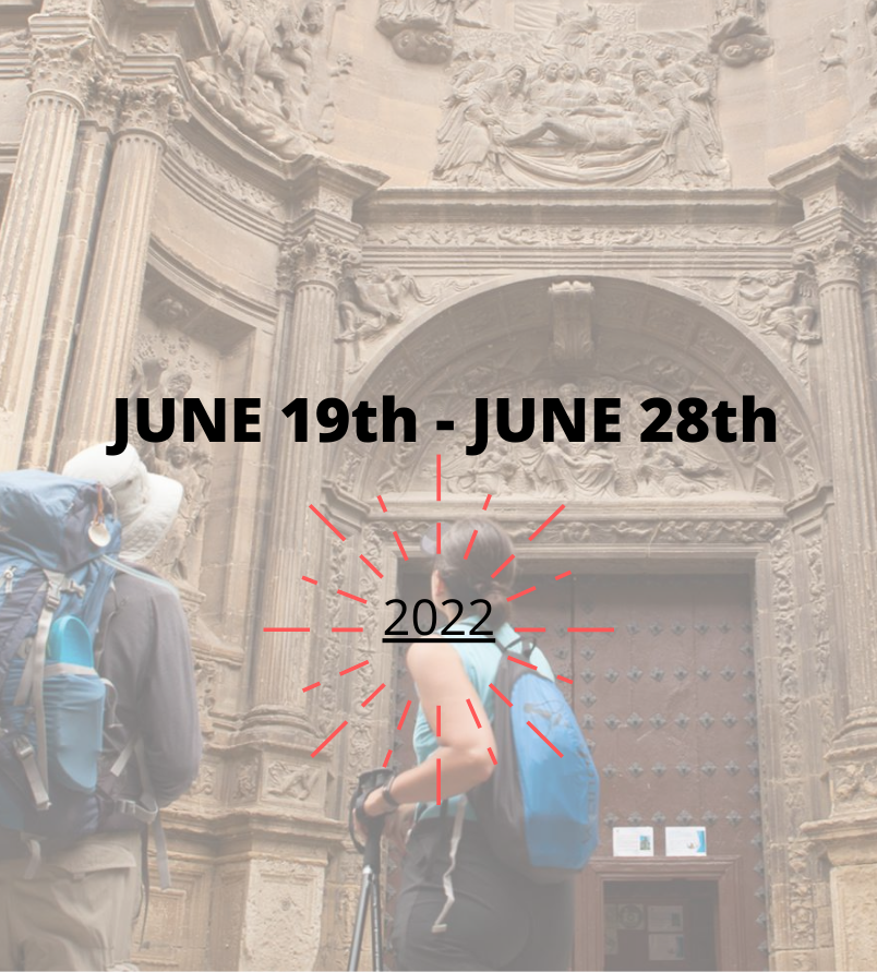 traveling steps dates camino