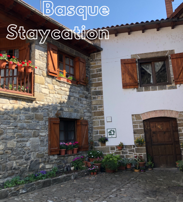 Traveling steps staycation