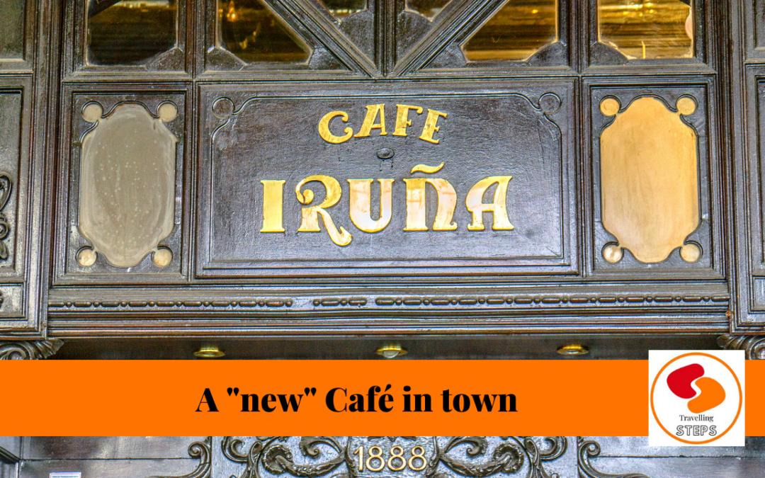 Café Iruña in Pamplona